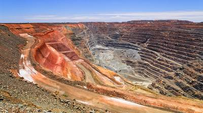 kalgoorlie mine site